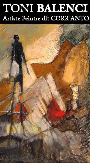 Artiste Peintre Toni BALENCI Logo